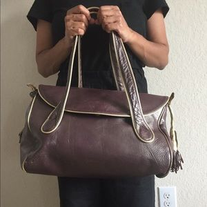 Blush B-Lush leather bag